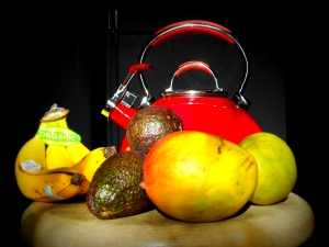 Fruit and Kettle