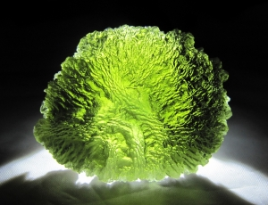 Moldavite bit42_17LIGHT